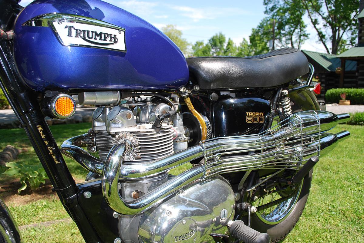 1970 Triumph Trophy Scrambler (T100C)